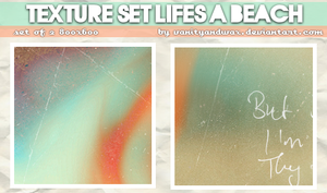 Life's A Beach Textures Set by vanityandwax