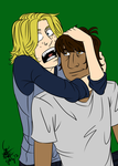 Motorcity - Mike and Chuckles by Kerushi-sama