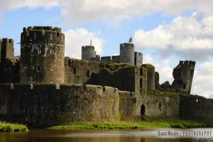 Caerphilly Castle II by lori80