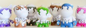 Full Stippled Munny Collection by bethanydesigns