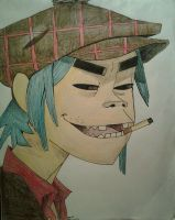 2-D Demon Days by LuCkYrAiNdRoP