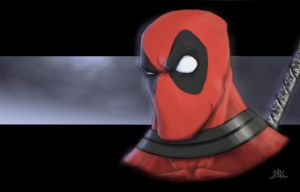 Fourth Wall Breaker: Deadpool by Chadwick-J-Coleman