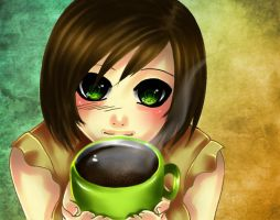coffee by piuchan