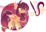 Painted Stars Themed [CLOSED] by Kazziepones
