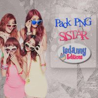 Sistar Pack PNG by JeffvinyTwilight