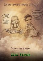 Every artist needs a muse by Isbjorg