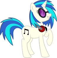 Too Cool Vinyl Scratch by osu4ev