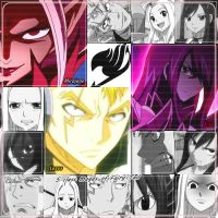 S class mages of Fairy Tail by BlueShinigami98