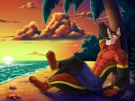 Commission - Shore Leave by ANGO76