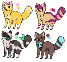 adoptables - open *CHEAP* *lowered prices* by C0LD-FRONT
