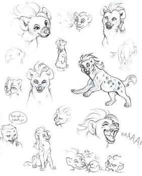 Lion Guard sketches by we-were-in-love