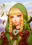Linkle Portrait by Valkymie