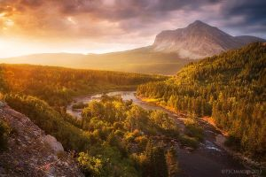 Light Through the Valley II by PeterJCoskun