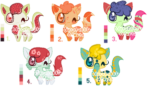 Cats Adopt Batch 2 - OPEN 1/5 by Adorabubble-Adopts