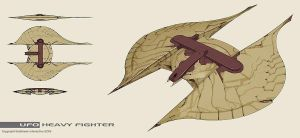Xenonauts: UFO heavy fighter by IgnusDei