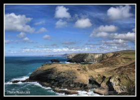 Tintagel - Cornwall by Kernow-Photography