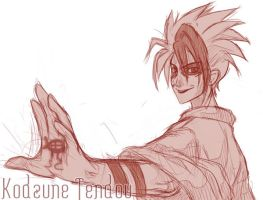 Sketch-Kodzune Tendou by ferus