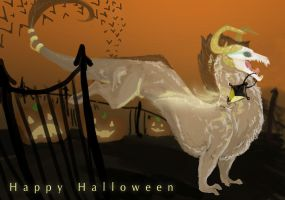 Happy Halloween by Elvynne