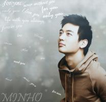 loving words : Minho wallpaper by Rio-Osake
