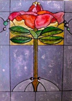 Art Deco Panel Number 2 by LieslB