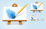 MyPaint icon redesign by 0rAX0