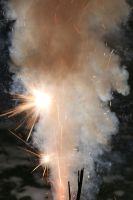 Fireworks Stock 106 by Malleni-Stock