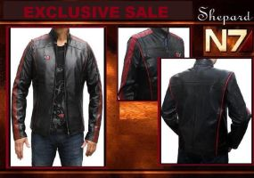 N7 Mass Effect Jacket by jessicanelson1265