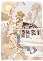 Psyche and Eros-1 by Eruhaha