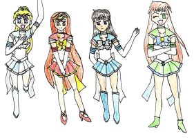 drawing- Silver Weather Senshi by whispering-shadow