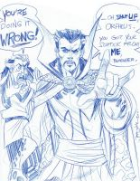 SKRATCHADAY Best: Dr Strange by thejeremydale