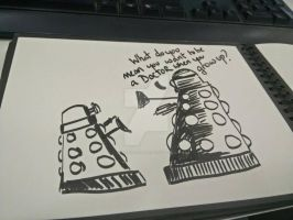 Dalek talkies by deadpool1109