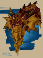 FR: Smaug The Golden by Shirozora