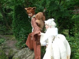 Vulpix and Ninetales Cosplay Shooting 2 by Shonen-Ai-Freak94