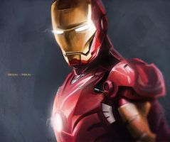 Iron Man by K0niks