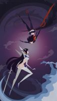 Kill La Kill by littlepaperforest