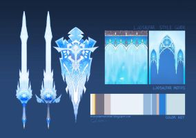 Ice Elf Style Guide by MURCHIEMONSTER