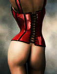 Poised - 3D Pin Up by Afina79