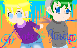 OCs Nate and Justin by SebastianMichaelis3