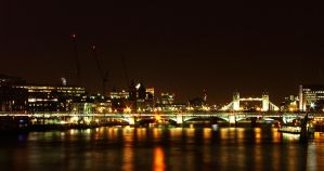 Tower Bridge and the Thames by Icypixel