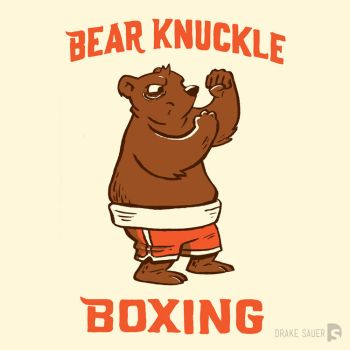 Bear Knuckle by drakeybaby