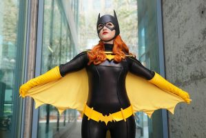 Batgirl at Big Wow Comic Fest by Pokypandas