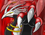 Gift: Zirra the Dragon by WarlordPete
