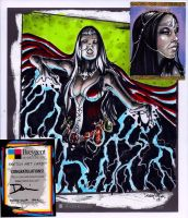 Chain Lightning Sketch card by dsilvabarred