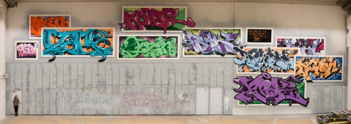 We Are Raw Deal - Crew Wall, February 2015 by Aamukaksi