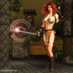 Red Sonja: Come with Me by Poserhobbit