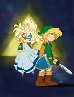 The Legend of Zelda: Save Me by kevinbolk