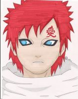 Gaara by Oskar-Draws