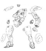AISN mech parts by genocidalpenguin
