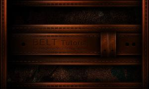 Leather Belt Tutorial. by NoobGamer75