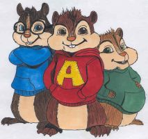 Alvin and The Chipmunks by danidarko96